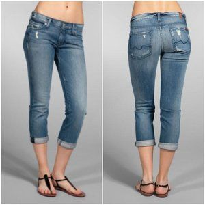 7 For All Mankind | Cropped Straight Leg Jeans